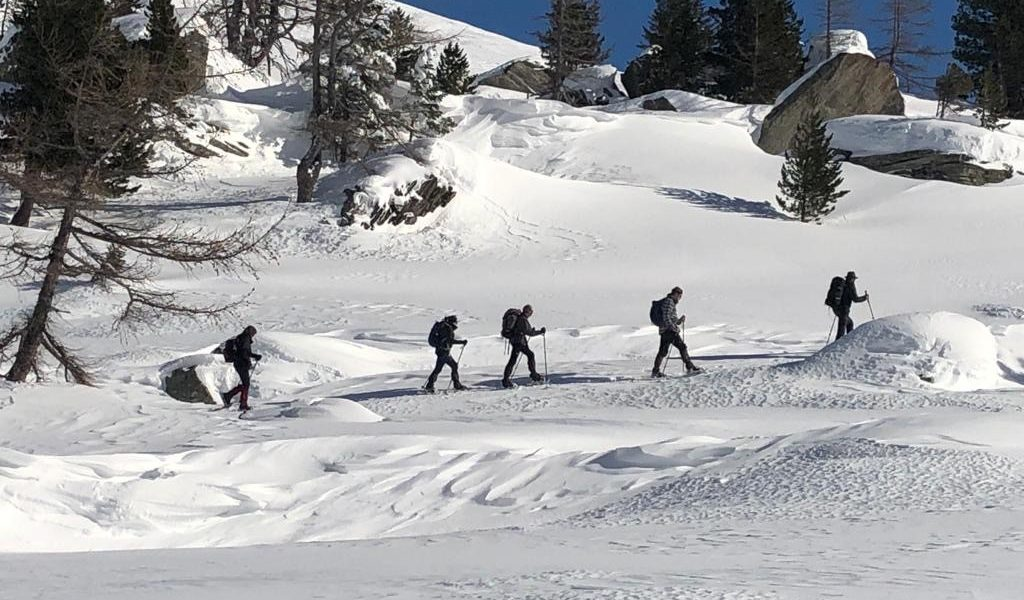 © Ron Kapteyn - Schneeschuhwanderung auf der Jamnigalm inmitten des Nationalpark Hohe Tauern