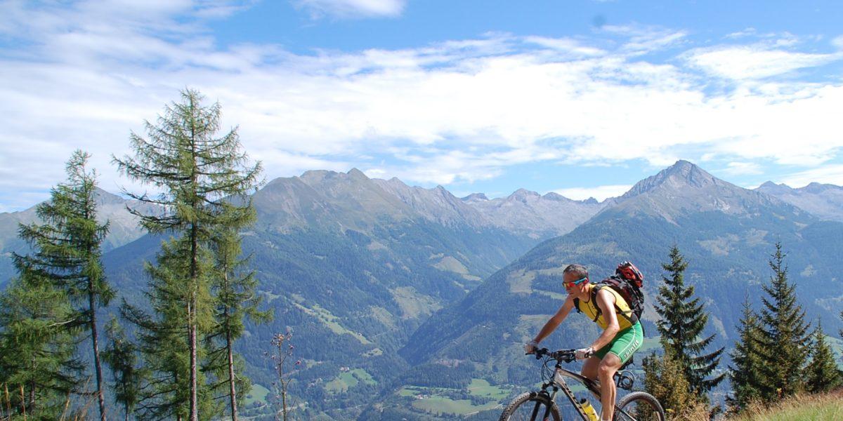 Mountainbiken Obervellach-Polinikhütte